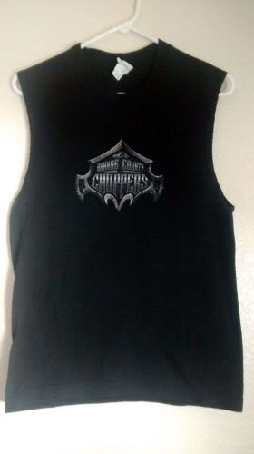 American Chopper Black Muscle Tee S 100% Cotton, Alstyle Apparel & Avctiveweare,
