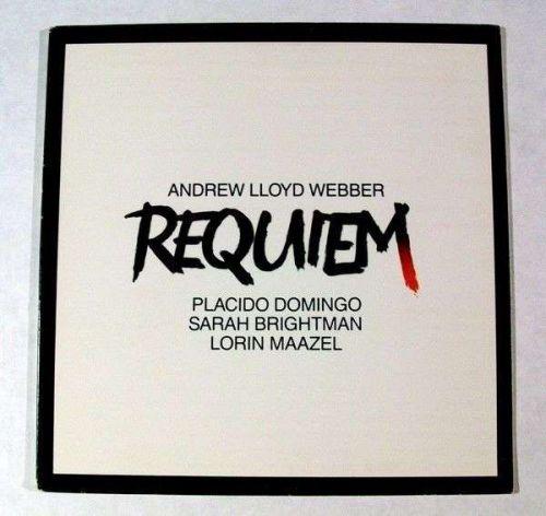 REQUIEM ~ Andrew Lloyd Webber *** 1985 Soundtrack LP