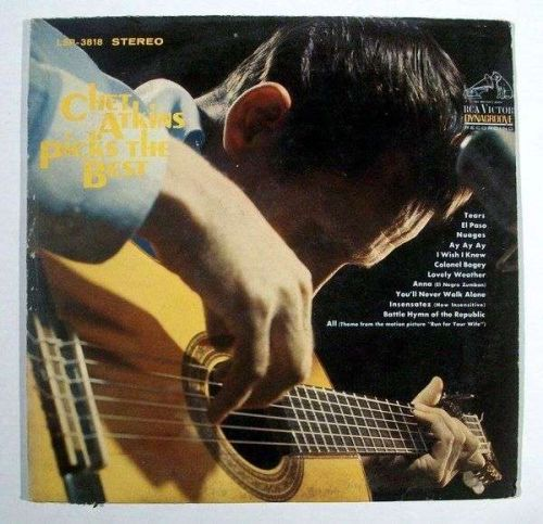 CHET ATKINS ~ Chet Atkins Picks The Best 1967 Country LP