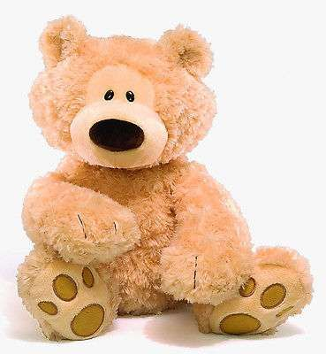 "Big 18"" Teddy Bear Plush Soft Cotton Stuffed Animal Light Brown Birthday Gift"