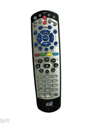 155679 #2 Remote Control Dish Network 21 0 IR UHF PRO TV BELL ExpressVU  learning