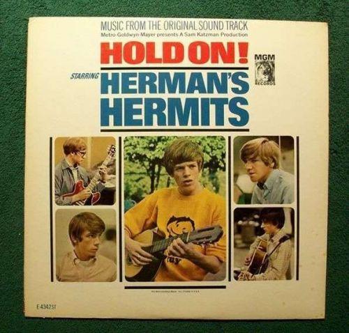 HOLD ON! ~ Herman's Hermits 1966 Original Soundtrack LP