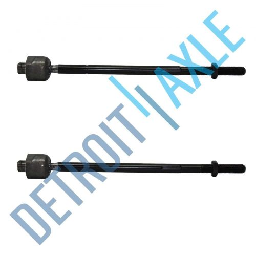 Pair of 2 NEW Front Driver and Passenger Inner Tie Rod Steering Linkage End