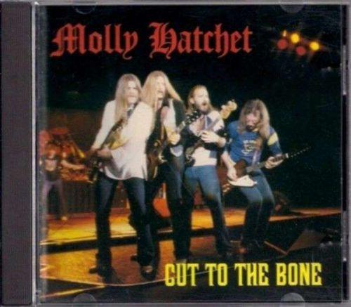 "MOLLY HATCHET ~ "" Cut To The Bone "" Southern Rock CD"
