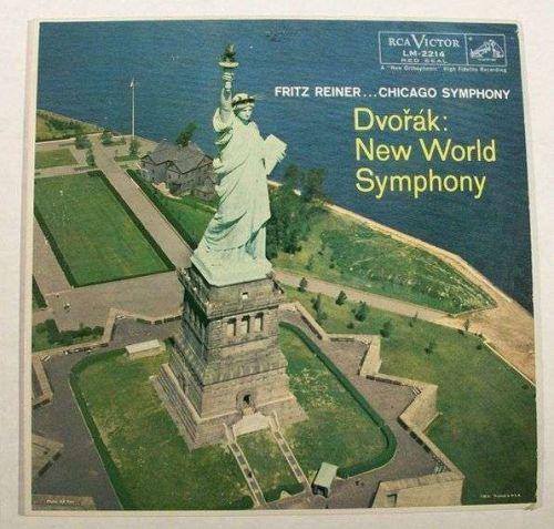 DVORAK New World Symphony / Fritz Reiner ... Chicago Symphony Classical LP