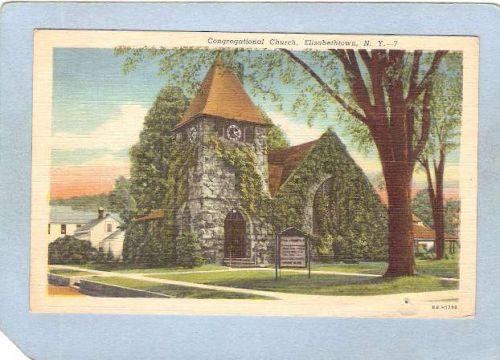 New York Elizabethtown Congregational Church ny_box5~1549