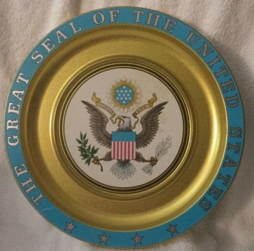 The Great Seal of the USA wall tin-Collectable