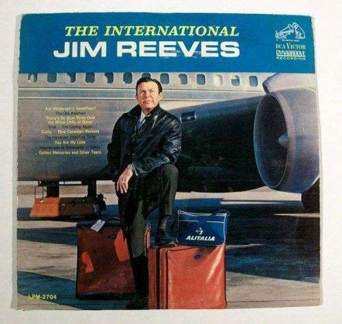 JIM REEVES ~ The International Jim Reeves 1963 Country LP