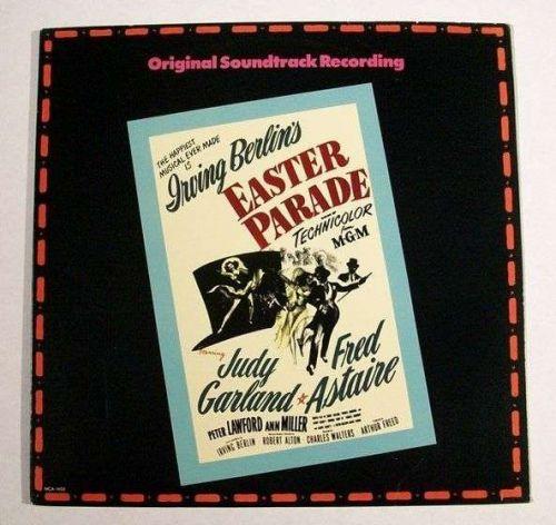 Irving Berlin's EASTER PARADE *** 1986 Soundtrack LP