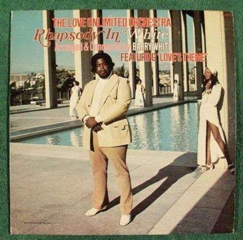"BARRY WHITE "" Rhapsody In White "" 1974 R&B LP"