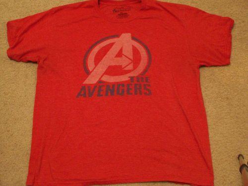 Marvel Avengers Red Shirt - Size XL