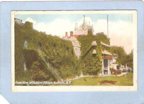New York Auburn Front View State Prison ny_box2~806