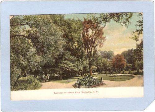 New York Wellsville Entrance To Island Park ny_box2~468