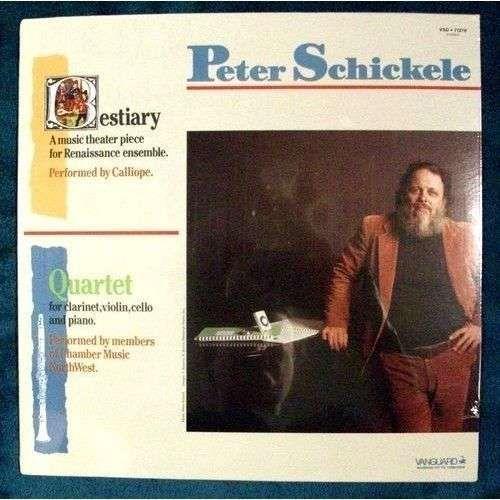 "PETER SCHICKELE "" Bestiary / Quartet "" Classical Chamber LP * Unopened"