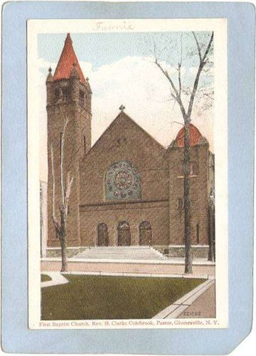 New York Gloversville First Baptist Church Rev H Clarke Colebrook Pastor n~2003