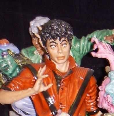 Michael Jackson Thriller Capodimonte 1 of 6 ever made