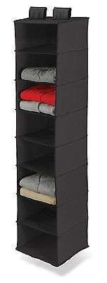 Hanging Storage Organizer Shelves Shelf Sweater Wall Crafted Polyester Shirts