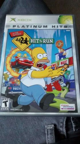 The Simpsons: Hit and Run (Xbox, 2003)