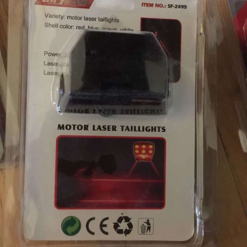 Bright RED Strobe LED brake light assembly - Fast Free Shipping