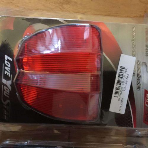 2 X Bright RED Strobe LED brake light assembly USA Seller Fast Shipping