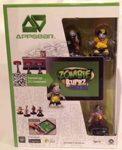 AppGear ZOMBIE BURBZ DINER for Apple iPad & Android Tablet Game - NEW!