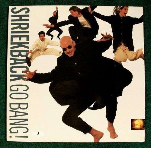 """SHRIEKBACK """" Go Bang! """" 1988 Post-Punk LP"""