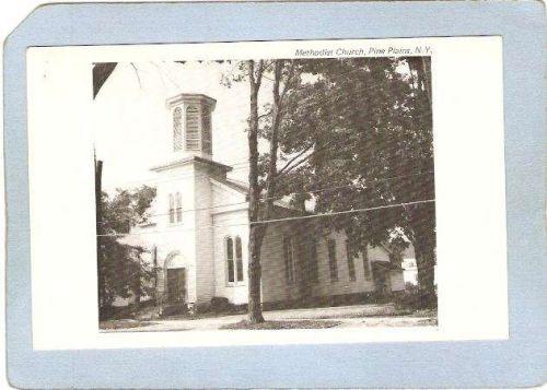 New York Pine Plains Methodist Church Photo Type Card ny_box4~2100