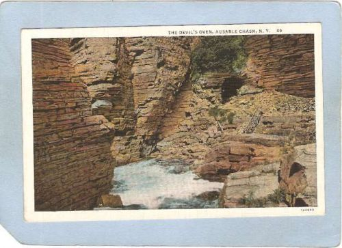 New York Ausable Chasm The Devil's Oven ny_box5~1501