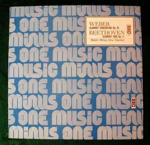 WEBER ~ Clarinet Concertino, Op. 26 / BEETHOVEN ~ Clarinet Trio, Op. 11 LP