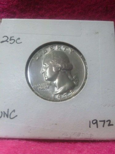 1972 25C Washington Quarter Mint State GEM High Quality US Coin From Set