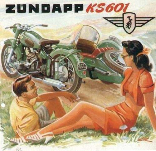 ZUNDAPP KS 601 OPERATIONS MANUAL & KS601 Parts Catalog for Motorcycle Service