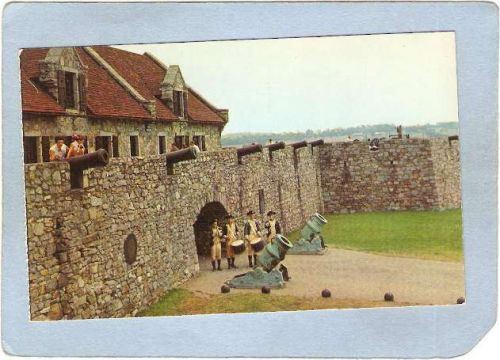 New York Fort Ticonderoga The South Wall Southeast Bastion & South Barrack~1561
