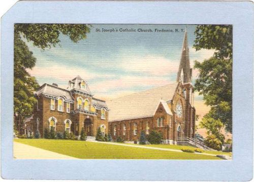New York Fredonia St Josephs Catholic Church ny_box3~921