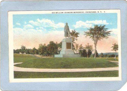 New York Johnstown Sir William Johnson Monument ny_box5~2025