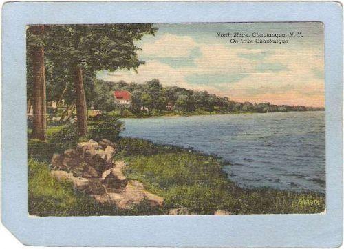 New York Chautauqua North Shore On Lake Chautauqua ny_box5~1837