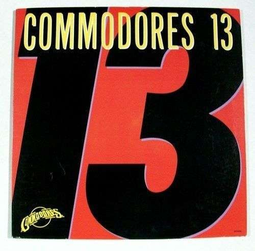 "COMMODORES "" Commodores 13 "" 1983 R&B LP"