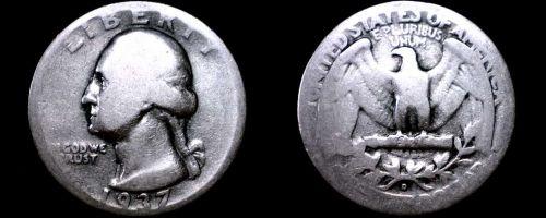 1937-D Washington Quarter Silver