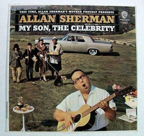 ALLAN SHERMAN ~ My Son, The Celebrity 1963 Collectible Comedy LP