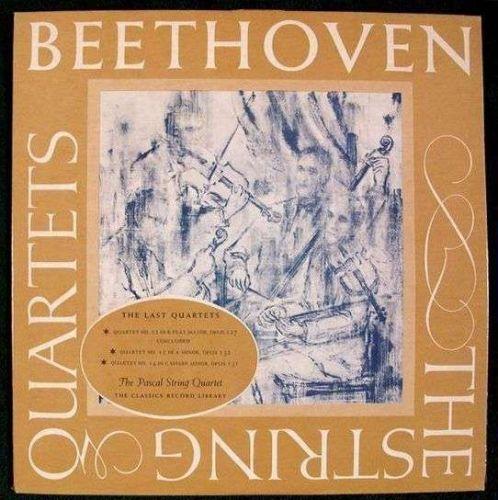 BEETHOVEN ~ The Last Quartets / No. 12, No. 15 & No. 14 Pascal LP