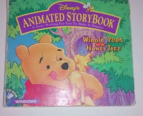 Disney's animated storybook Winnie the Pooh and the honey tree