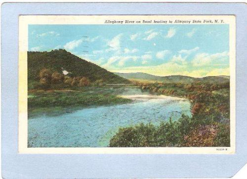 New York Allegheny State Park Allegheny River On Road Leading To Park ny_b~639