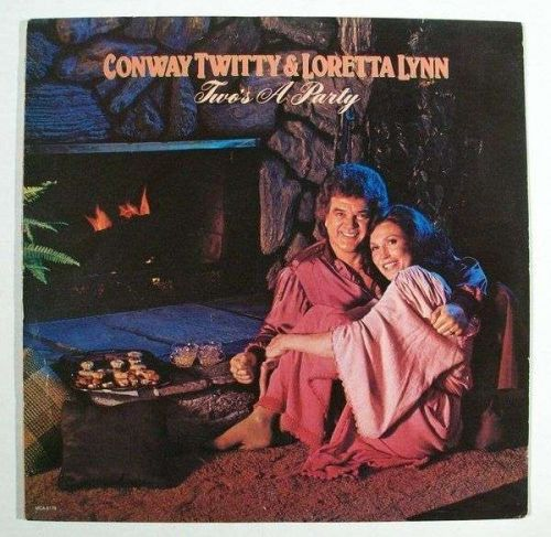 CONWAY TWITTY & LORETTA LYNN ~ Two's A Party 1981 Country LP