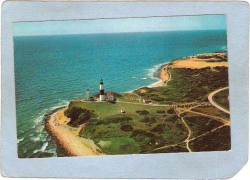 New York Montauk Point Lighthouse Postcard Montauk Point Lighthouse lighth~783