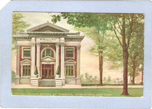 New York Jamestown The Chautauqua School Of Nursing ny_box3~949