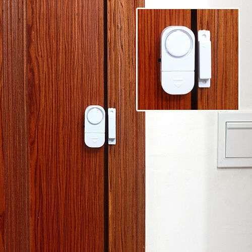Home Office Wireless Window Door Knob Entry Security Burglar Theft Alarm Sensor