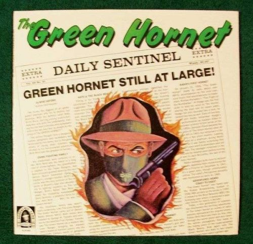 THE GREEN HORNET *** 1977 Soundtrack LP Nostalgia Lane Recording