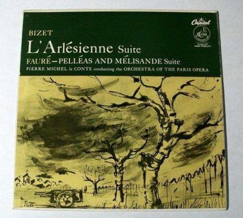 BIZET ~ L'Arlesienne Suite / FAURE ~ Pelleas and Melisande Suite Classical LP