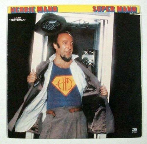 """HERBIE MANN """" Super Mann """" 1979 Jazz LP"""