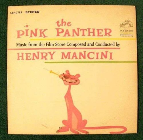 THE PINK PANTHER ~ Henry Mancini 1964 Music from the Film Score LP