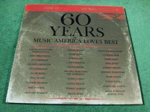 60 YEARS of Music America Loves Best. Volume II 1960 Stereo Double LP